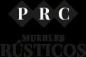 PRC Muebles rústicos